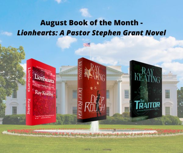 Book of the Month: Buy 2 Pastor Stephen Grant Books - DEEP ROUGH and THE TRAITOR - and Get LIONHEARTS for FREE - Signed Set