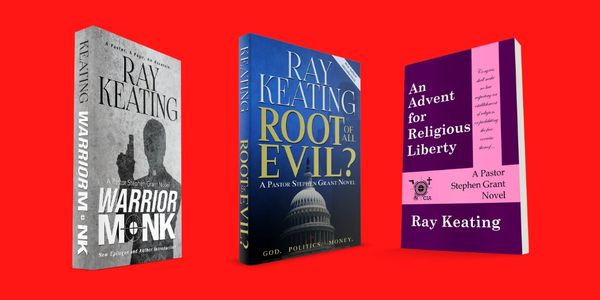 Pastor Stephen Grant Trilogy #1 - Signed Set: Warrior Monk, Root of All Evil? and An Advent for Religious Liberty