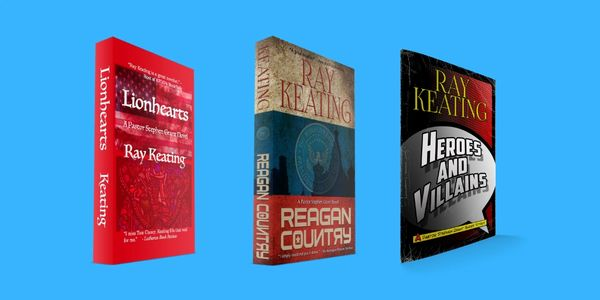 Pastor Stephen Grant Trilogy #3 - Signed Set: LIONHEARTS, REAGAN COUNTRY and HEROES AND VILLAINS