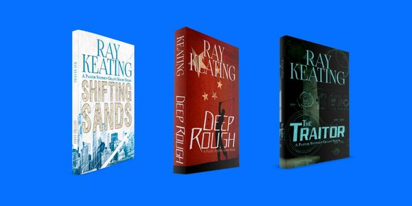 Pastor Stephen Grant Trilogy #4 - Signed Set: SHIFTING SANDS, DEEP ROUGH and THE TRAITOR