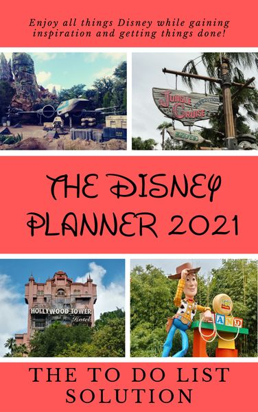 The Disney Planner 2021: The TO DO List Solution - Pre-Order Sale on Signed Copy