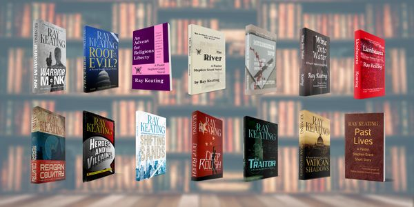 Pastor Stephen Grant Novels and Short Stories - Signed Set - All 14 Adventures, PLUS a Small Surprise Thank You Gift