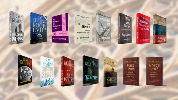 Pastor Stephen Grant Novels and Short Stories - Signed Set - All 15 Adventures, PLUS a Small Surprise Thank You Gift