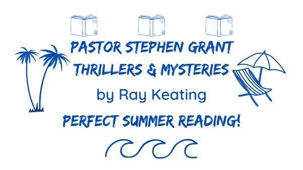 Pastor Stephen Grant Thrillers & Mysteries Summer Reading Beach Towel