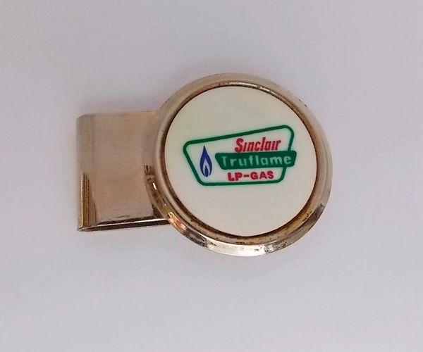 Sinclair Advertising Money Clip - HIT U.S.A.Truflame LP-Gas