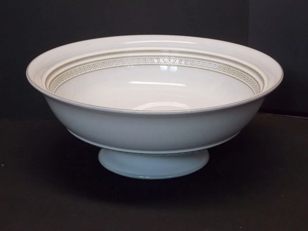 """Denby-Langley ALSACE 9"""" Footed Fruit Serving Bowl"""