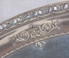 "WALLACE Sterling LARKSPUR 10 1/8"" silver Sandwich Plate 4275-9 – Circa 1939"