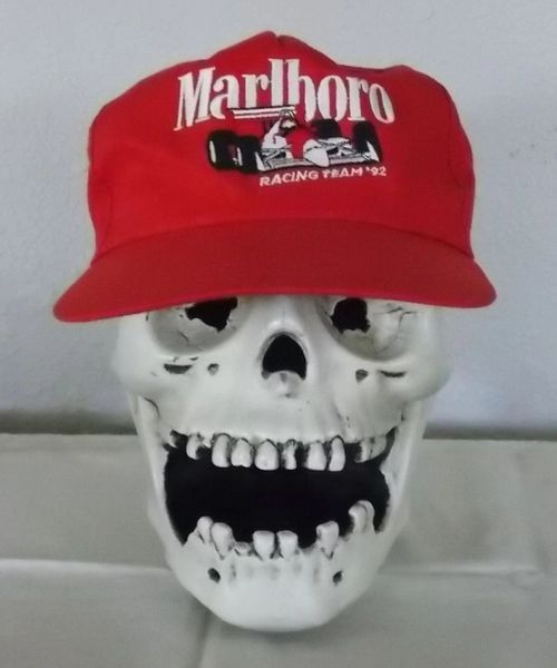 NEW old stock - Vintage Marlboro Racing Team '92 Baseball hat cap