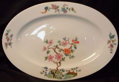 Zeh Scherzer Platter Bavaria (Pre WW II) 1930-1945 Tree of Life