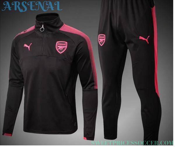 quality design 44c41 4fe11 Arsenal Jersey training suit 17-18 set Sleeves