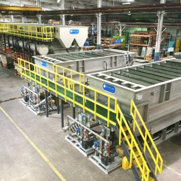 Turnkey installations for complete industrial and municipal wastewater and water systems