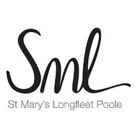 St Mary's Longfleet Poole logo in black text on white background.