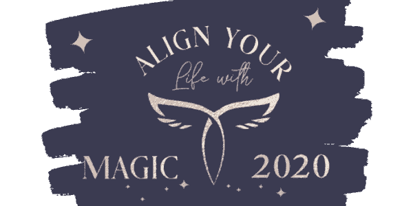 Align your life with magic poster