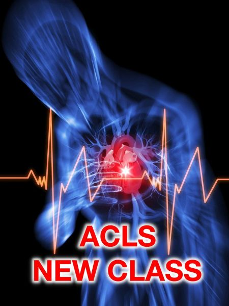 ACLS Initial (Advanced Cardiovascular Life Support) UTMB PA
