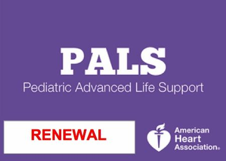 PALS RENEWAL (Pediatric Advanced Cardiovascular Life Support) Call or text (713) 408-2934 to schedule