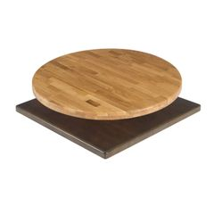 """Solid Wood Table Tops 1.5"""" Thick Butcher Block with Eased Edge Quick Ship"""