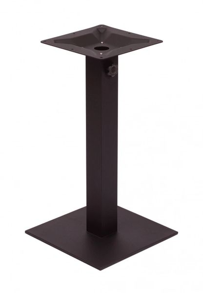 Heavy Duty Indoor / Outdoor Cast Iron Table Base with Square Column