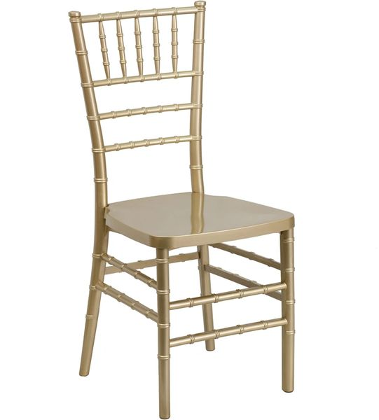 01. Resin Chiavari Chair Gold Frame