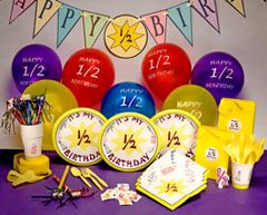 Extreme Half Birthday Party Kit