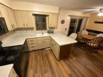 A recent kitchen remodel in Grimes, Iowa.