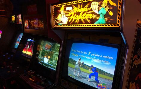 Virtua Fighter arcade game by Sega at The Game Preserve