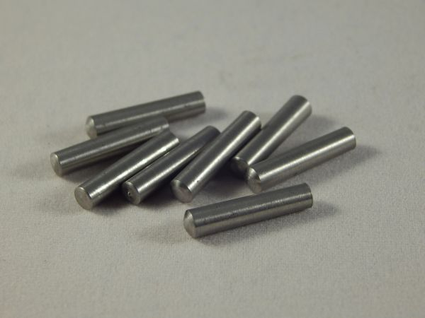"Stainless Steel Taper Pins 2/0 x 5/8"" (Set of 5)"
