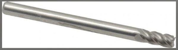 3mm OD 4 Flute Carbide Endmill