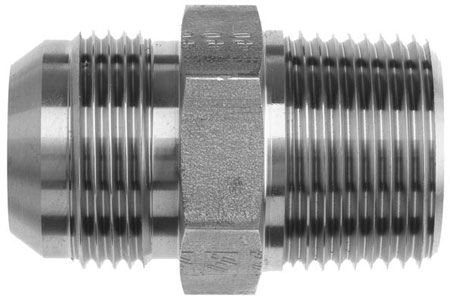 "-3 x 1/8"" NPT Straight Adapter"