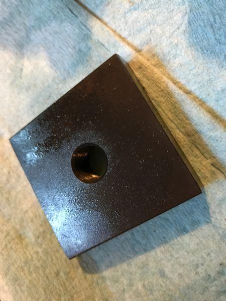 2AU-MB 5/8-24 Universal Gas Block Drilling Muzzle Block