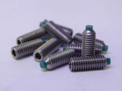 Dimple Jig Soft Point Set Screw