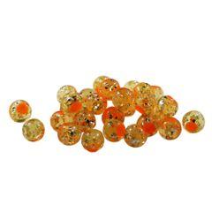Glitter Bomb: Natural Orange with Orange Dot
