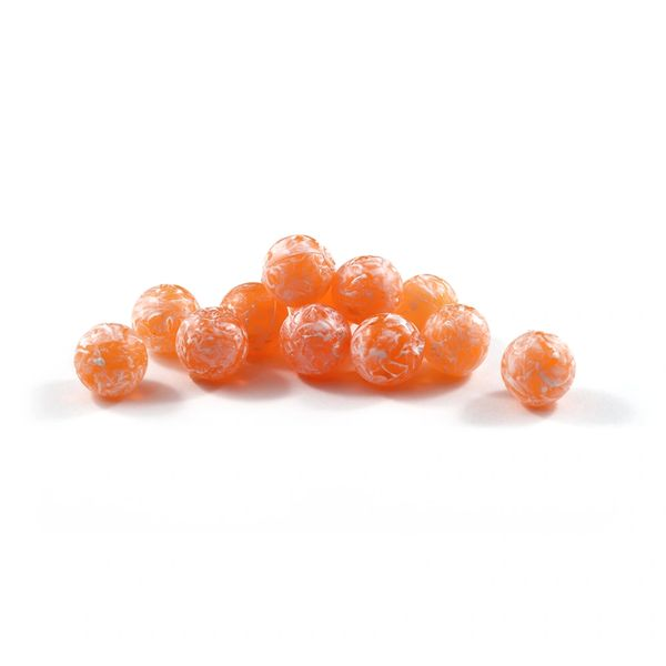 Soft Beads: Glazed Chehalis Orange
