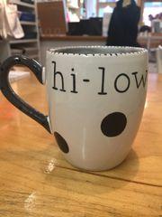 hi-low? Personalized mug