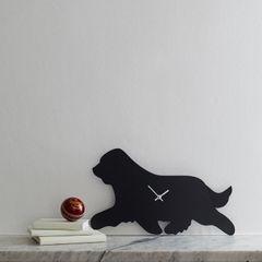 Bearded Collie Clock