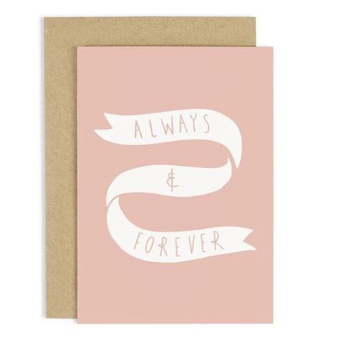 ALWAYS AND FOREVER CARD CC69