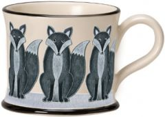 Fox Mug by Moorland Pottery