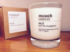 mooch CANDLES no.2 pink fizz & grapefruit