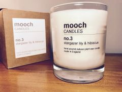 mooch CANDLES no.3 stargazer lily & hibiscus