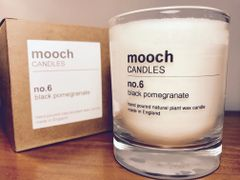 mooch CANDLES no.6 black pomegranate