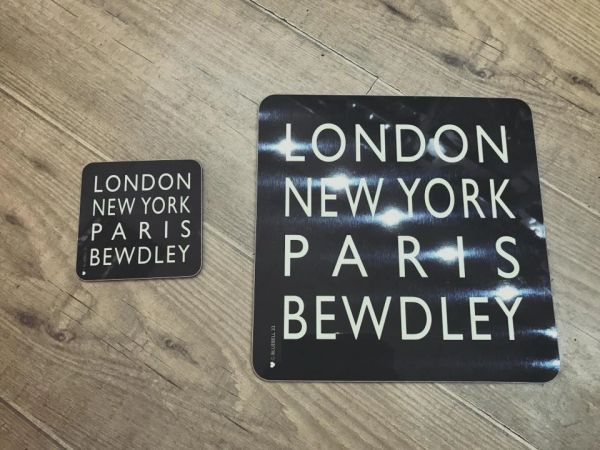 London New York Paris Bewdley - Coasters & Placemats