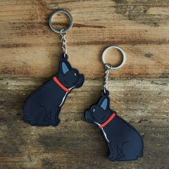 French Bulldog Keyring