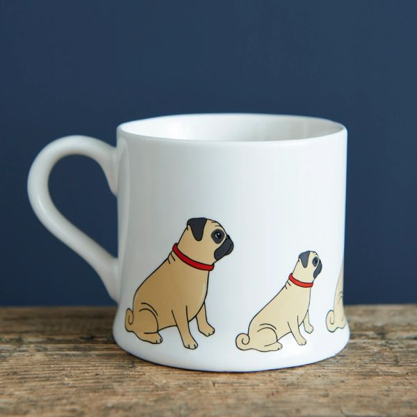 Fawn Pug Mug
