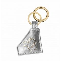 DIAMOND KEYRING SILVER DIAMOND SENTIMENT KEYRING