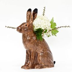 Hare Vase by Quail Ceramics