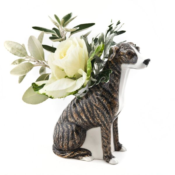 Greyhound Vase by Quail Ceramics