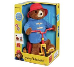 Paddington Bear Cycling Plush