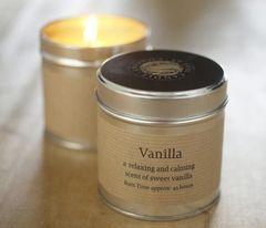 Vanilla Candle Tin