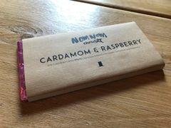 Nom Nom Cardamom & Raspberry Chocolate