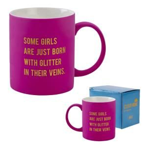 Cloud Nine gift boxed mug 'Some girls...'