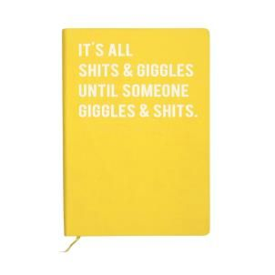Cloud Nine Shits & Giggles A5 notebook (lined)
